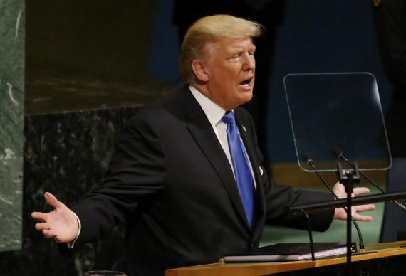 Ante la ONU, Donald Trump amenaza con