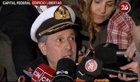 Submarino desaparecido: la Armada decretó el