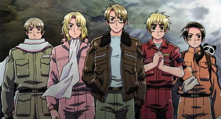 Hetalia paint it, white!
